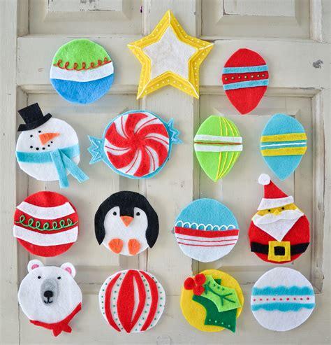 Felt-Christmas-Decorations-Diy
