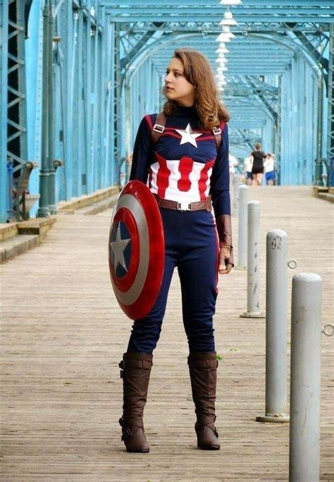 Female-Captain-America-Costume-Diy