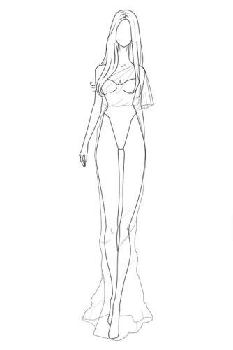 Female-Drawing-Template