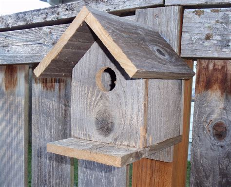Fence Board Birdhouse Plan