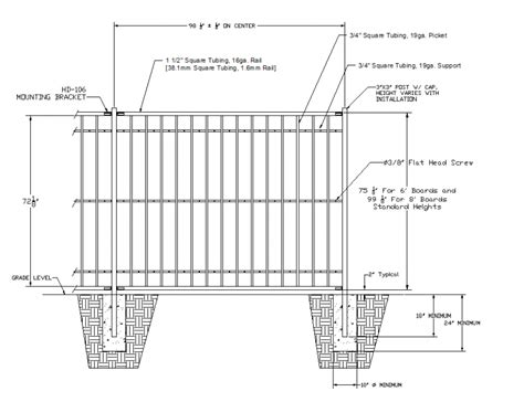 Fence Layout Plan