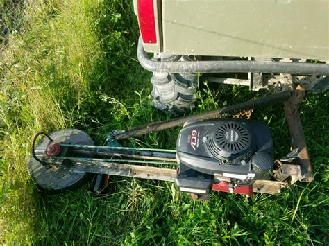 Fence Line Mower Plans