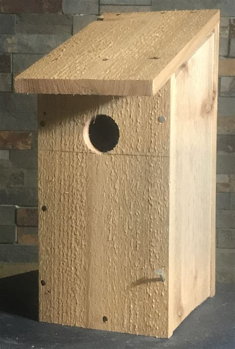 Fence Picket Birdhouse Plans