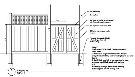 Fence-Gate-Plans