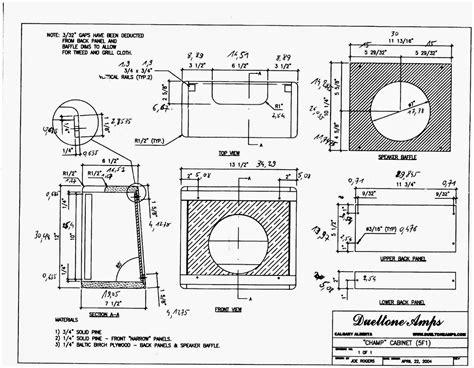 Fender-Tweed-Champ-Cabinet-Plans