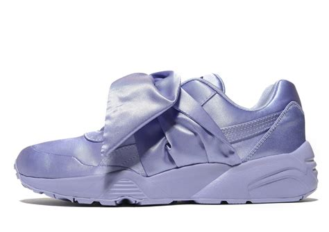 Fenty By Puma Bow Satin Sneakers