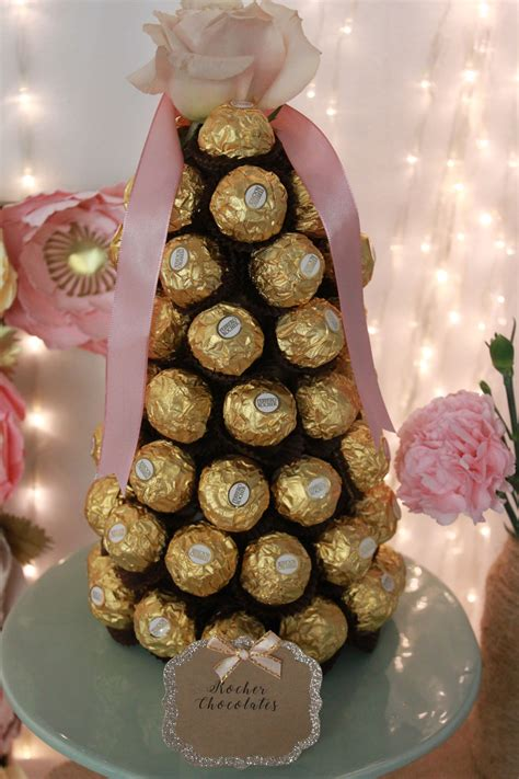 Ferrero Rocher Tower Diy