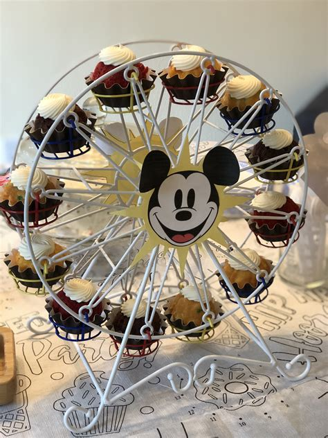 Ferris Wheel Cupcake Stand Diy Magic Theme
