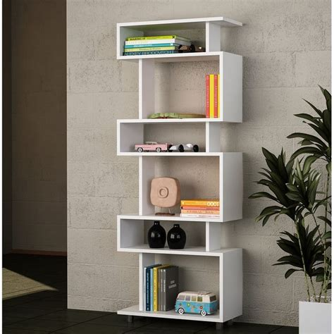 Fey Geometric Bookcase