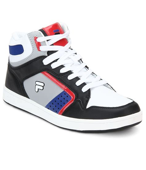 Fila Black Sneakers India