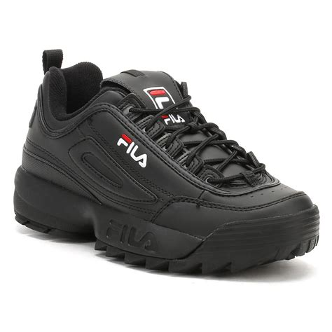 Fila Black Womens Sneakers