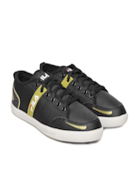 Fila Destroy Black Sneakers Myntra