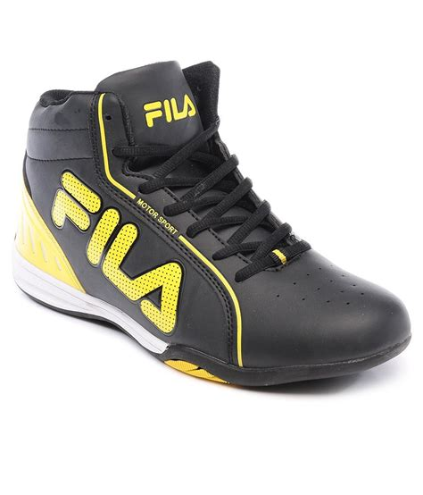 Fila Sneakers Black Casual Shoes