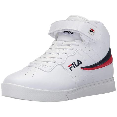 Fila Vulc 13 Mid Men's Sneakers Size 8 Black