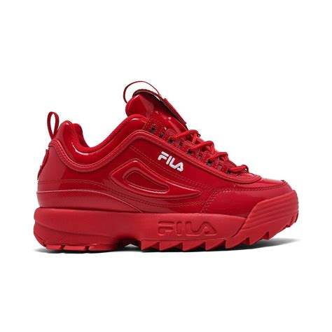 Fila Womens Disruptor Ii Sneaker On Feet