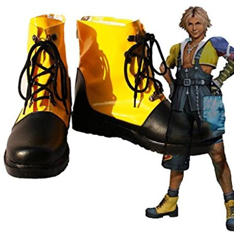 Final Fantasy 10 FF10 Tidus Cosplay Shoes Boots Custom Made