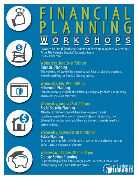 Financial Planning Workshops