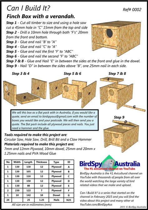 Finch-Box-Plans