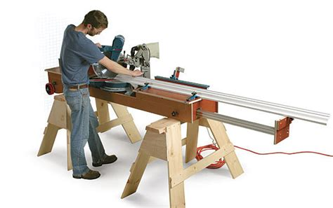 Fine Homebuilding Ultimate Miter Saw Stand