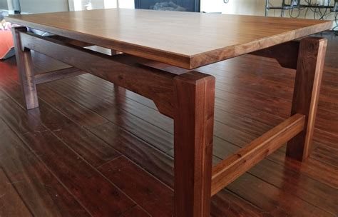 Fine Woodworkers Coffee Table