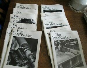 Fine Woodworking Back Issues