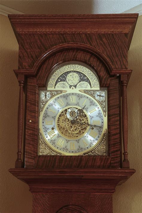 Fine Woodworking Clock