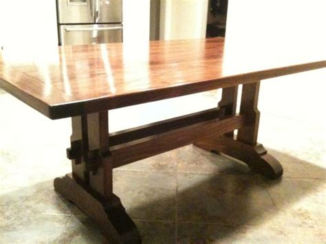 Fine Woodworking Magazine Trestle Table