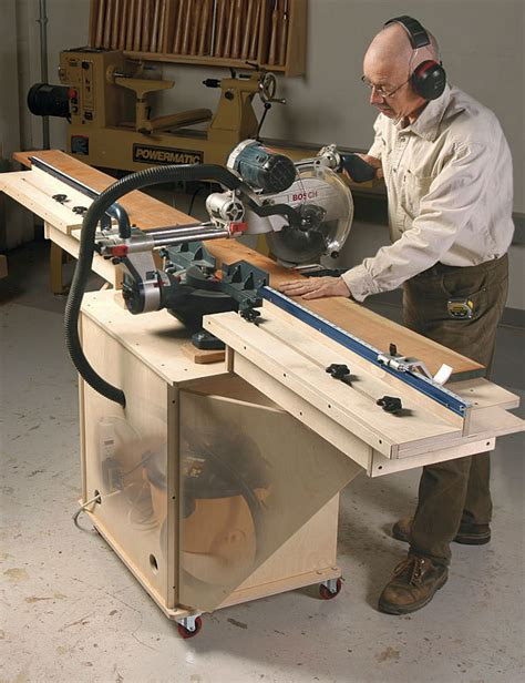 Fine Woodworking Miter Saw Stand Plans