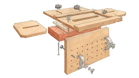 Fine Woodworking Mortise Jig