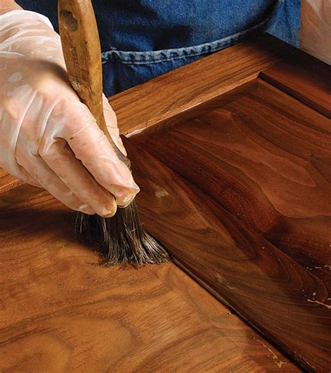 Fine Woodworking Oil Finish