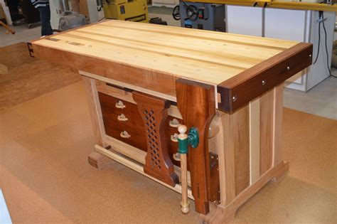 Fine Woodworking Plans Workbench