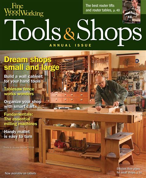 Fine Woodworking Tools And Shops 2014