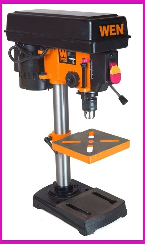 Fine-Woodworking-Bench-Top-Drill-Press