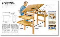 Fine-Woodworking-Drafting-Table