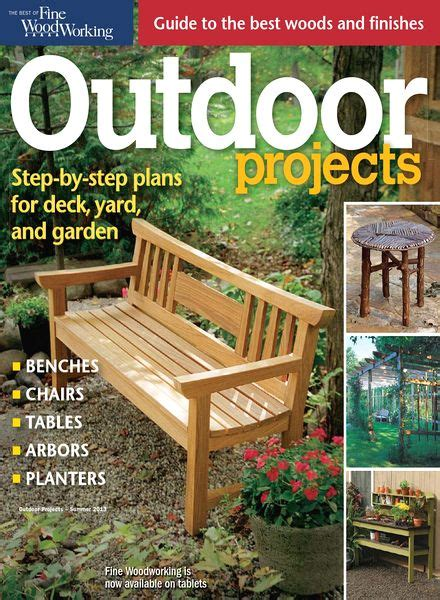 Fine-Woodworking-Outdoor-Projects-Magazine