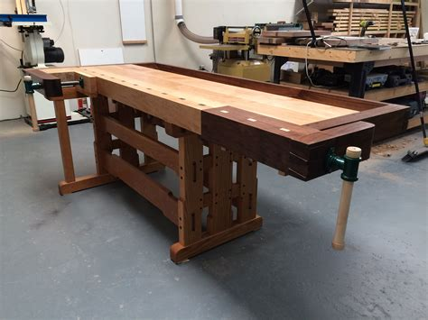 Fine-Woodworking-Work-Bench-Plans