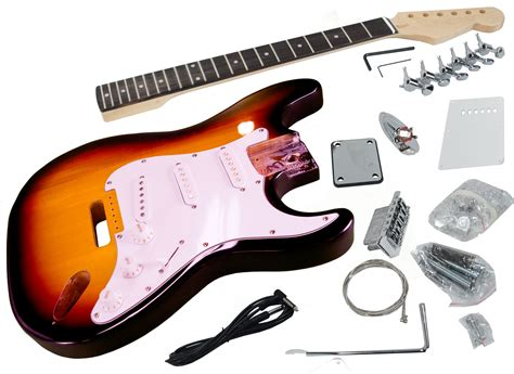 Finished Diy Electric Guitar Kit