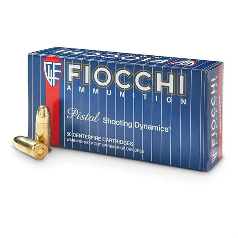Fiocchi 9mm Ammunition 50 Rounds Fmj 115 Grains And Daniel Defense Ar 15 M16 5 56 Hammer Forged Barrels 14 5