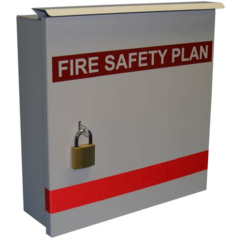Fire Control Plan Box