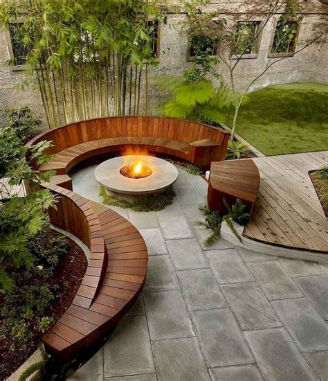 Fire Pit Area Plans