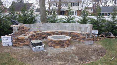 Fire Pit Stone Bench Plans
