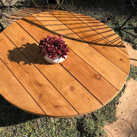 Fire Pit Table Top Cover Diy