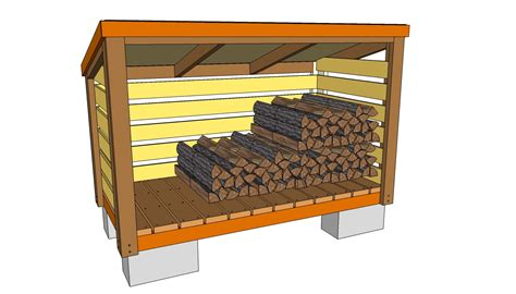 Fire Wood Shed Free Plans