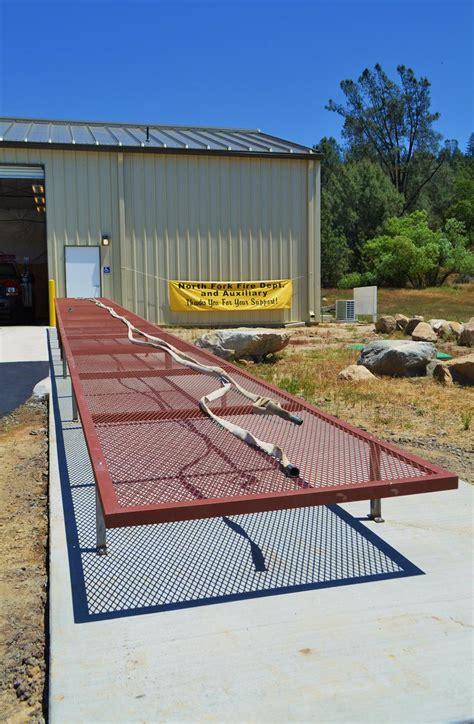 Fire-Hose-Drying-Rack-Plans