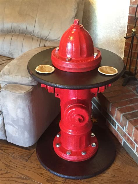 Fire-Hydrant-End-Table-Decor-Diy