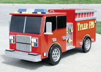 Fire-Truck-Toy-Box-Plans