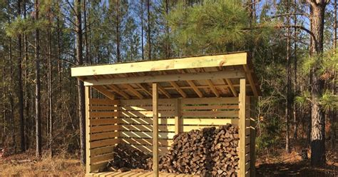 Fire-Wood-Shed-Free-Plans