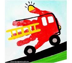 Best Fire truck craft preschool