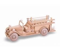 Best Fire truck wood craft