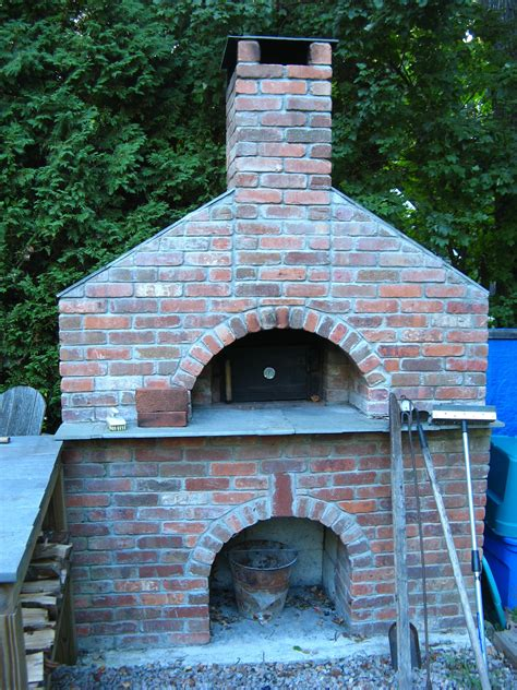 Fireplace And Wood Oven Plans